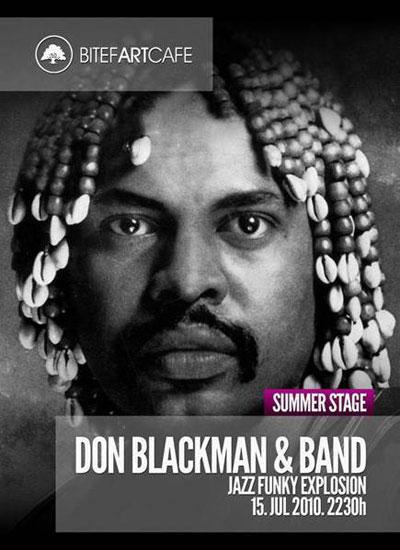 Don Blackman - plakat