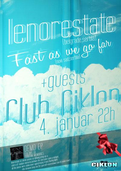 Lenorestate @ Club Ciklon