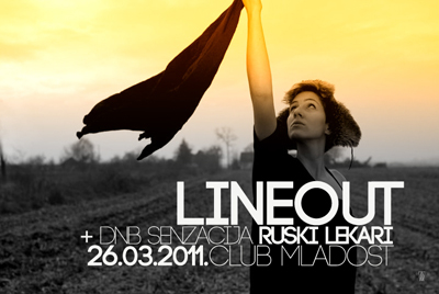 Line out @ Club Mladost, Subotica