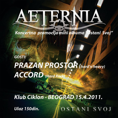 Aeternia @ Club Ciklon