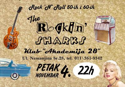 The Rockin' Sharks @ Akademija 28, Beograd