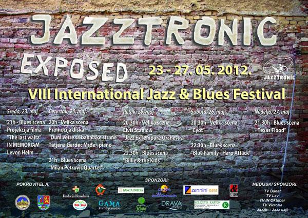 Jazztronic 2012, Vršac