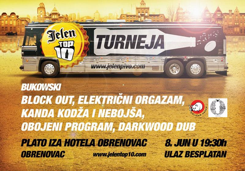 Jelen Top 10 Turneja @ Obrenovac