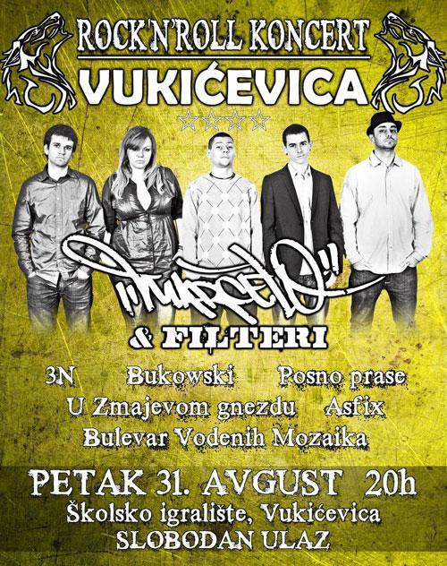 Vukićevica 2012 - Rock n roll koncert