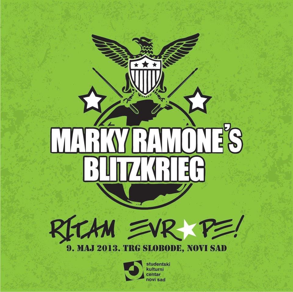 Marky Ramone's Blitzkrieg @ Ritam Evrope 2013, Novi Sad