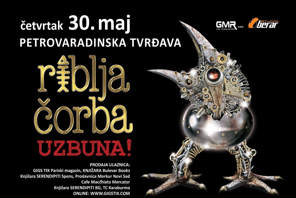 Riblja Čorba @ Petrovaradinska tvrđava, Novi Sad