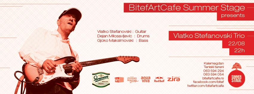 Vlatko Stefanovski Trio @ Bitef, Beograd