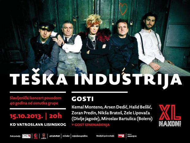 Teška industrija @ Zagreb