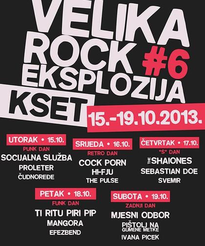 Velike rock eksplozije #6
