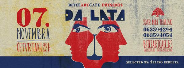 Da Lata @ Bitef Art Cafe, Beograd