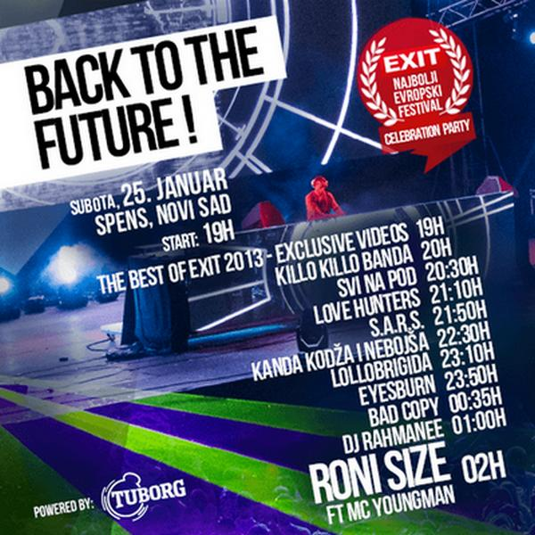 BACK TO THE FUTURE! - Exit 2014 - Satnica