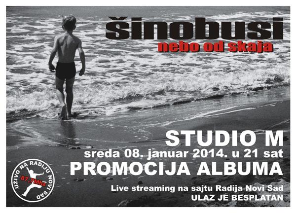 Šinobusi @ Studio M, Novi Sad