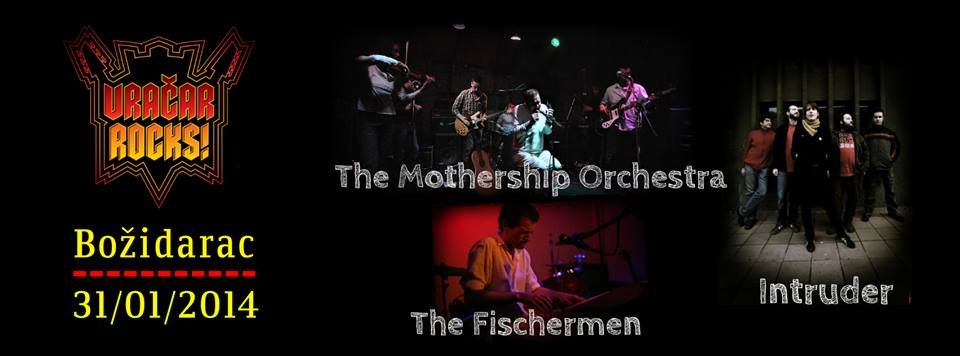 The Mothership Orchestra, Intruder & The Fischermen @ Vračar Rocks, Beograd