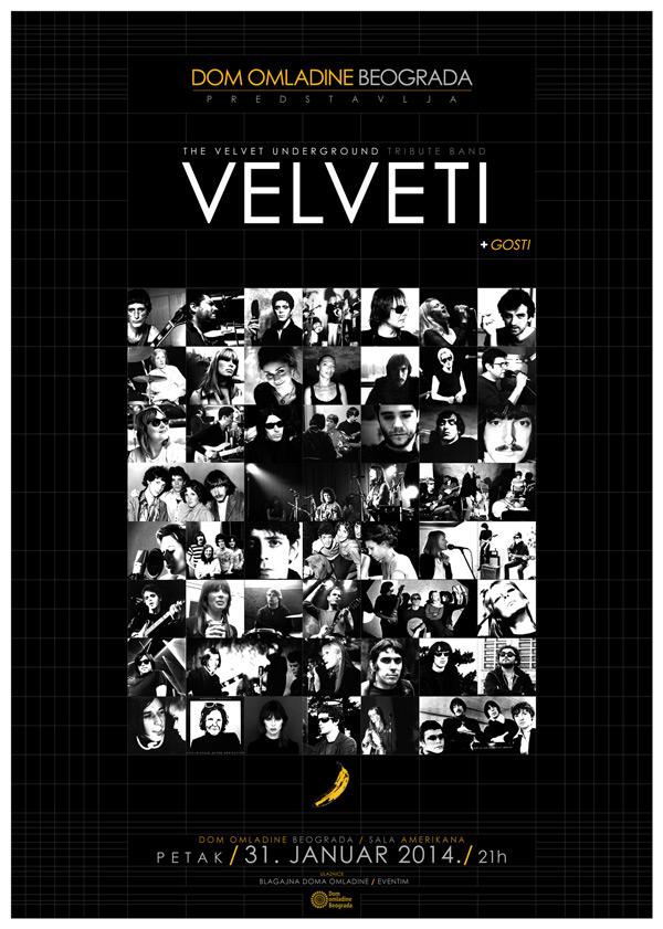 Velveti @ Dom omladine, Beograd