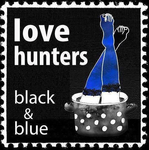 Love Hunters - Black & Blue