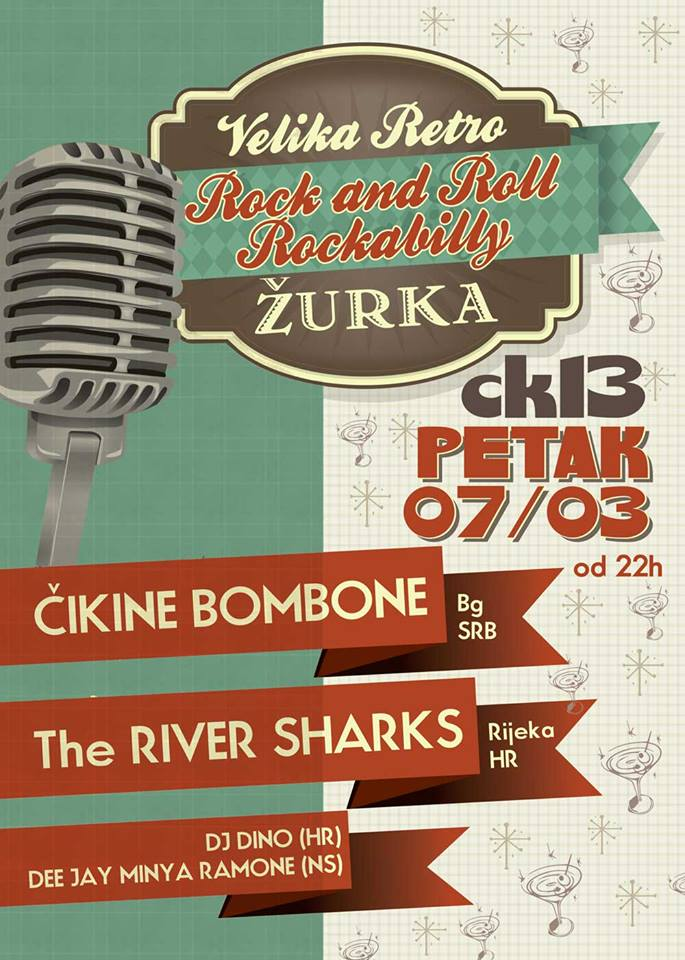 Granpa Candys & The River Sharks @ CK13, Novi Sad
