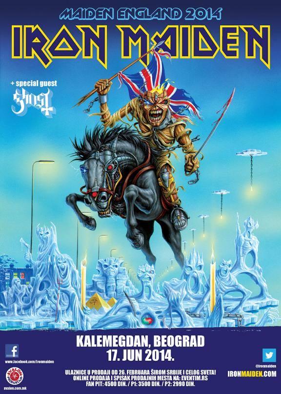 Iron Maiden @ Serbia