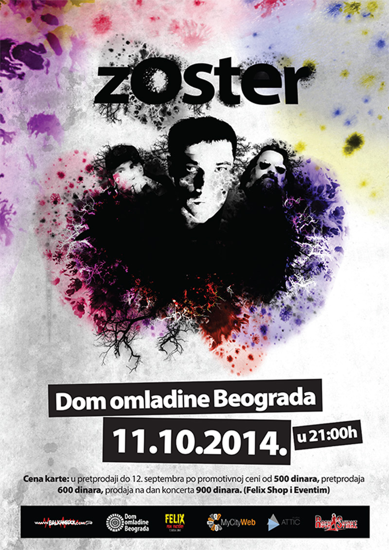Zoster - Dom omladine, Beograd