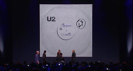 Apple: U2 - Songs of Innocence