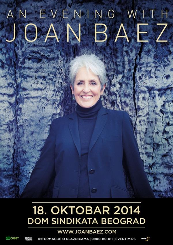 Joan Baez @ Dom sindikata, Beograd