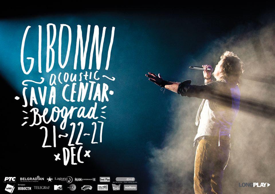 Gibonni Acoustic @ Sava centar, Beograd