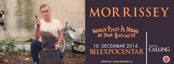Morrissey @ Belexpocentar, Beograd