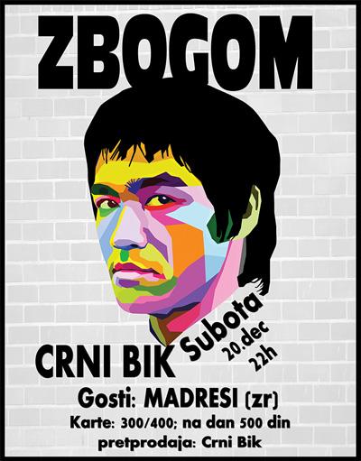 Zbogom Brus Li @ Crni Bik, Novi Sad