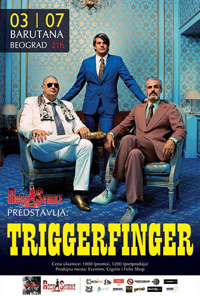 Triggerfinger @ Barutana, Beograd 2015