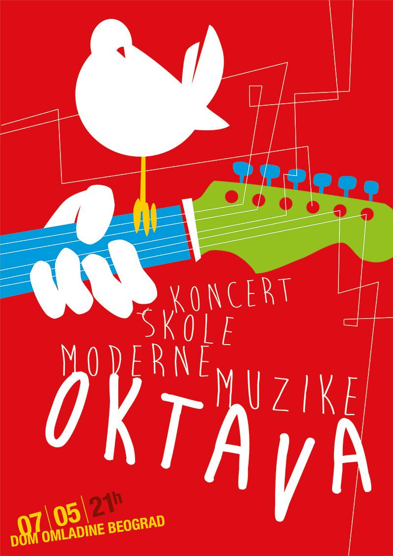 Škola moderne muzike Oktava @ Dom omladine Beograda