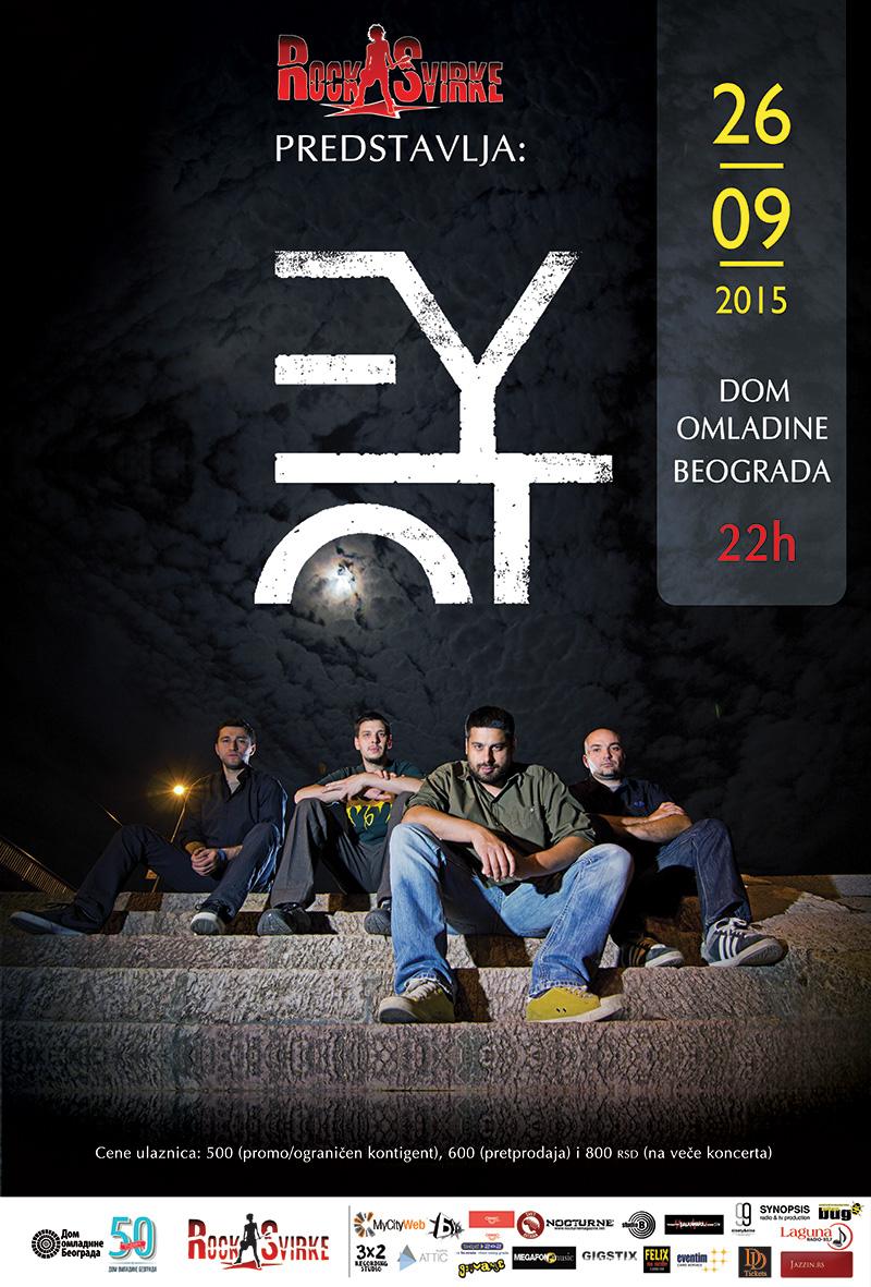 Eyot @ Dom omladine Beograda