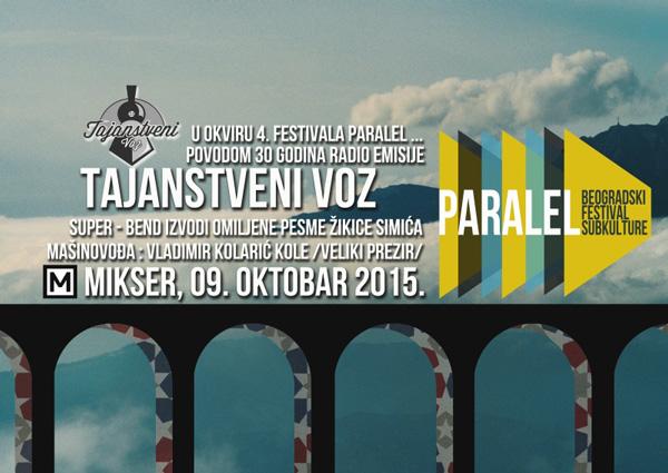 Tajanstveni voz – Koncert super grupe u okviru 4. Paralel festivala