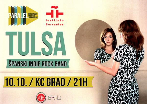 Španski indie rok bend Tulsa na 4. Festivalu Paralel