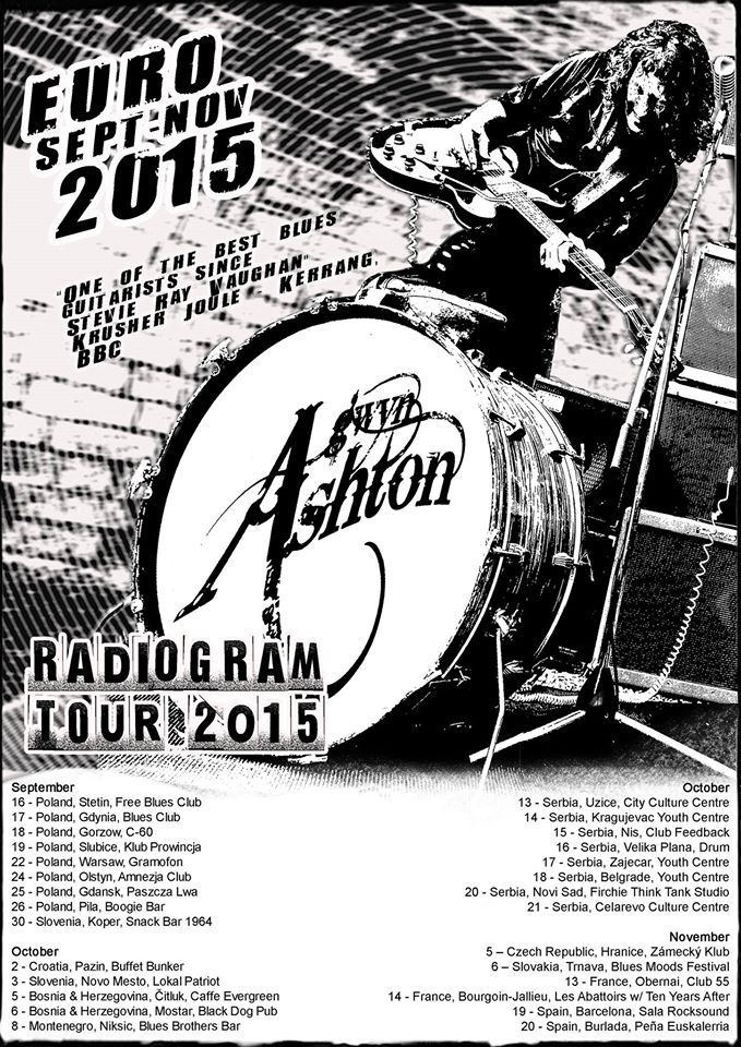 Gwyn Ashton - Radiogram Tour 2015