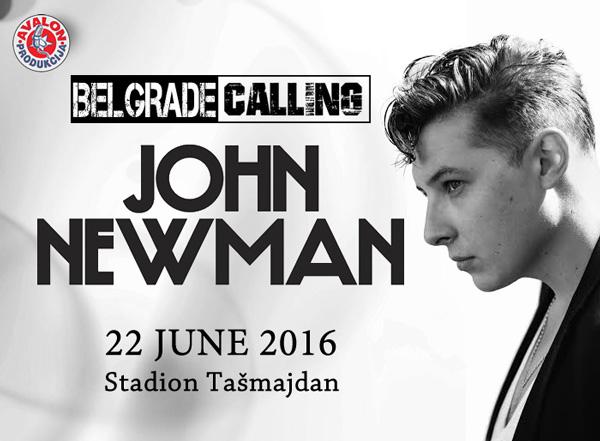 John Newman @ Belgrade Calling 2016
