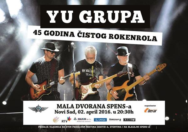 Yu Grupa @ SPENS, Novi Sad