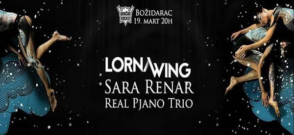 Lorna Wing, Sara Renar i Real Pjano Trio sutra u Božidarcu (nagradna igra)