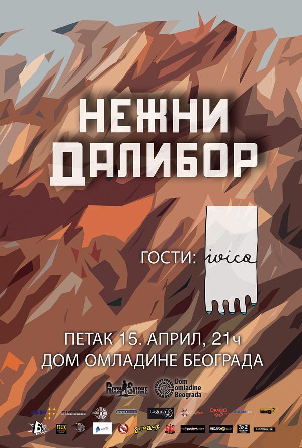 Večeras koncertna promocija novih pesama grupe Nežni Dalibor u DOB-u (nagradna igra)