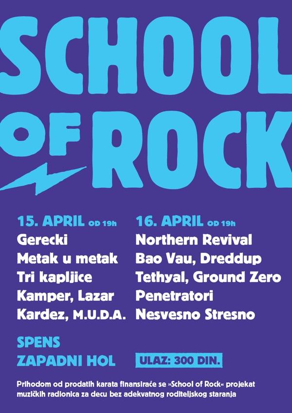 "Bendovi za projekat ""Mala škola Rock'N'Rolla"""