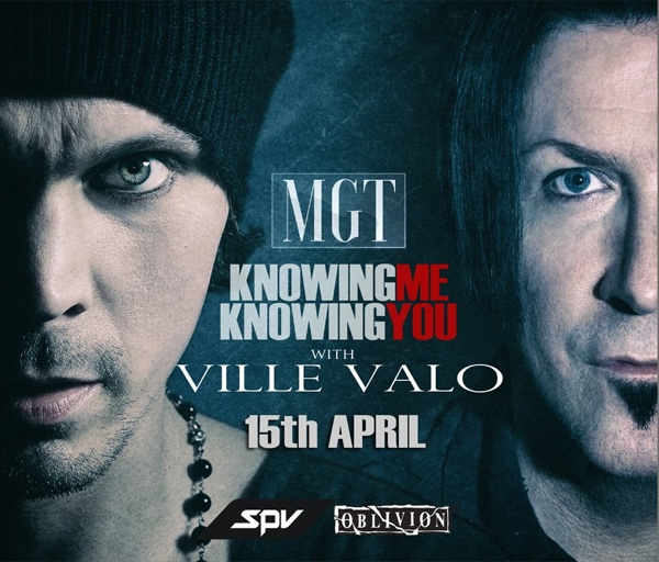 "Vile Valo (HIM) i MGT predstavili obradu pesme ""Knowing Me, Knowing You"" sastava ABBA"